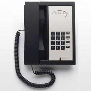 Telematrix 3300MWB Black (Проводной гостиничный телефон)