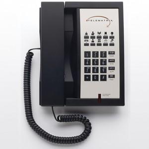 Telematrix 3300MW10 Black (Проводной гостиничный телефон)
