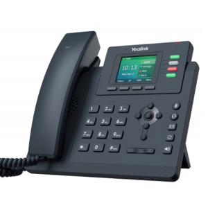 Телефон Yealink SIP-T33P (4 аккаунта, цветной экран, PoE)