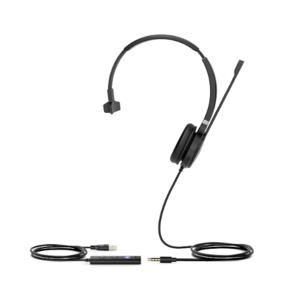 Yealink UH36 Mono-Teams (Гарнитура Проводная, HD звук, USB и 3,5 mm jack)