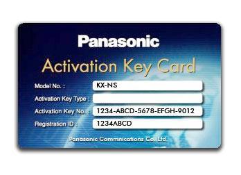Panasonic KX-NSN001W (Ключ активации для сети One-look (One-look Network))
