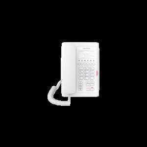 Fanvil FH3WPPSUW (H3 отельный, 2 аккаунта, Wi-Fi, без экрана, PoE, б/п, белый)
