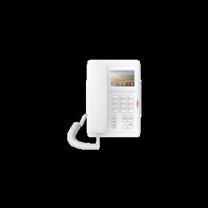 Fanvil FH5WPPSUW (H5 отельный, 2 аккаунта, Wi-Fi, цветной ЖК экран, PoE, б/п, белый)