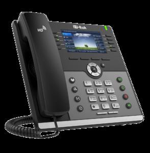 Проводной SIP телефон Htek UC926E RU (c POE, БП в комплекте)