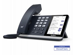 Телефон SIP Yealink SIP-T55A (Teams, Цветной сенсорный экран, GigE, без видео, без БП)